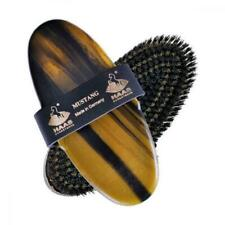 Haas Mustang Grooming Brush - Deep Cleaning for Thick or Shedding Coats
