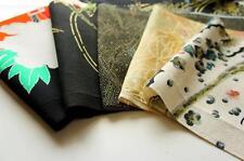 Japanese kimono Fabric | Patchwork Lot 454 | Vintage | valued pack