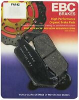 Yamaha WR250 2008 - 2010 EBC Organic FRONT Disc Brake Pads FA142