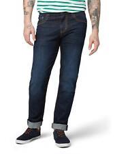 Tom Tailor Herren Jeans Jeanshose Marvin Straight Fit Blau Dark Stone Wash Denim