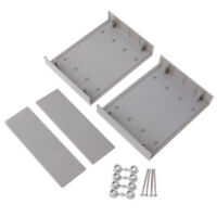 130x170x55MM Plastic Electronic Project Box Enclosure Instrument Grey Shell Case