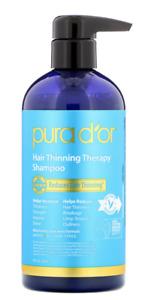 Pura D'or, Pura Dor Anti-Hair Thinning Therapy Shampoo, Hair Loss Treatment