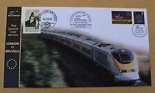 Eurostar le plus rapide jamais service de londres à bruxelles 2007 buckingham railway cover
