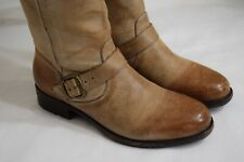 Ariat womens boots size 7.5 Western ombre Brown distressed leather buckle