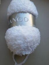 Pelotes de laine à l'unité style nounours / couleur blanc- fabriqué en France