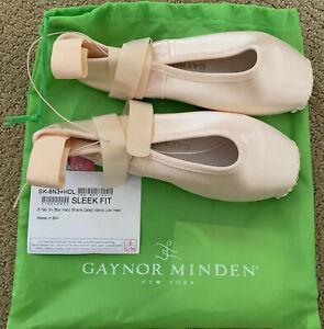 Gaynor Minden Pointe Shoes Ballet: SK-8N3HDL Size 8, Pink