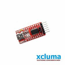 XCLUMA FTDI FT232RL FT232 USB TO TTL 5V 3.3V SERIAL ADAPTOR FOR ARDUINO BE0027