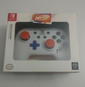 PowerA Nintendo Switch Nerf Wired Controller New 9.8Ft (3m) Wire