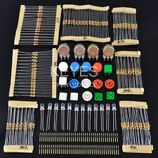 Lot of Electronic Parts Pack KIT for ARDUINO component Resistors Switch Button