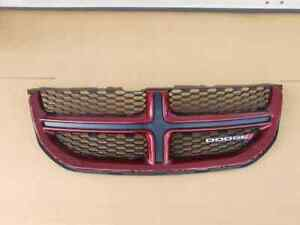 2011 2014 2015 2016 2017 2018 2019 DODGE GRAND CARAVAN GRILLE RED OEM 68100689AC