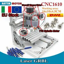 <IT> 1610 3 Axis DIY Mini Desktop CNC Laser Pcb Milling Router Engraving Machine