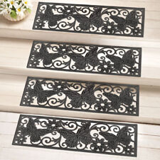 Home Rubber Stair Treads 4Pcs Indoor Outdoor Butterfly Decoration Porch Non Slip