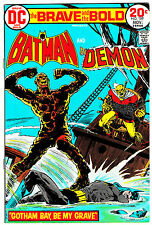 BRAVE & THE BOLD #109 (VF/NM) BATMAN! DEMON! Classic Bronze-Age Issue! DC 1973