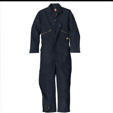 Red Kap Insulated Blended Duck Coverall CD32 - Navy Blue - Large