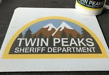 Twin Peaks Sheriffs Department Agent Dale Cooper David Lynch Computer Mouse Mat