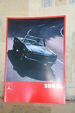Mercedes-Benz 280 SL Pagode Prospekt W113 1969