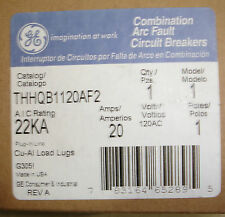 New GE THHQB1120AF2 General Electric Bolt in Circuit Breaker 22KA