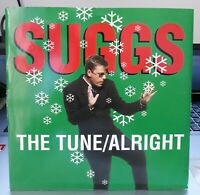 "SUGGS - THE TUNE/ALRIGHT RARE 7"" 1995 WARNER POP SKA MADNESS  (NM- / MINT)"