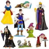 Snow White And The Seven Dwarfs Evil Queen Prince 8PC Figure Toy Doll Christmas