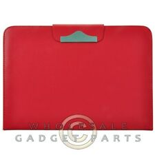 Samsung Galaxy Note 10.1 Folio Stand Leather Case-Red Cover Shell Protector Skin