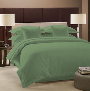 FULL USA BEDDING COLLECTION STRIPE 1000 TC 100% EGYPTIAN COTTON ALL COLOR & ITEM