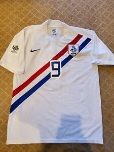 2006 World Cup Holland Netherlands Away Ruud Van Nistelrooy Jersey Size XL