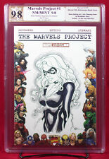 BLACK CAT MARVEL PROJECT #1 PGX (not CGC) 9.8 NM/MT Cover Sketch by MIKE MCKONE
