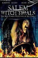 NEW MINI SERIES  DVD // SALEM WITCH TRIALS // Kirstie Alley, Shirley MacLaine,