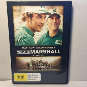 We Are Marshall  (DVD, 2006) Region 4 PAL