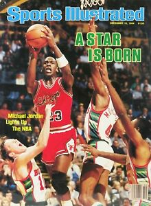 1984 Sports Illustrated A Star Is Born > Michael Jordan > Chicago Bulls 🔥🏆