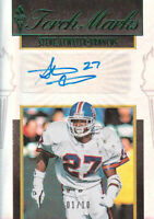 2019 Panini Passing The Torch Torch Marks Steve Atwater Auto Broncos 1/10 !!!