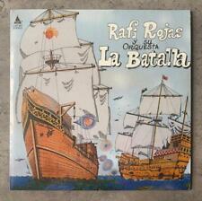 Rafi Rojas Y Su Orquesta La Batalla LP Reissue Latin Salsa Guaguanco Rare NM