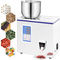 2-100g Powder Particle Filling Machine Subpackage Device Seeds Herbs Electronic