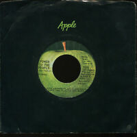 JOHN LENNON PLASTIC ONO BAND Power To The People Apple 45 With Company Sleeve