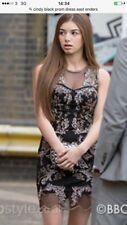 Miss Selfridge Black Evening Dress Size 8