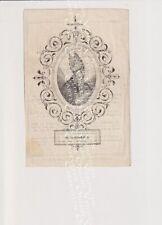 Oud doodsprentje DP Dikkelvenne Zuster Ceuterick Zwijnaarde Van der Linden 1849