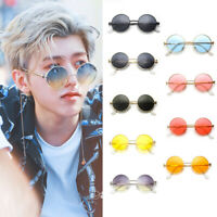Women Men UV400 Retro Round Frame Sunglasses Fashion Vintage Glasses Eyewear HL