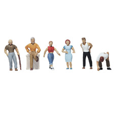 Woodland Scenics – Scenic Accents – HO Scale – Ordinary People Plastic Figures