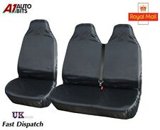 2+1 HEAVY DUTY WATERPROOF FRONT SEAT COVERS PROTECTORS FOR MINIBUS TOYOTA HIACE