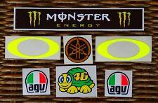 NEW  Helmet visor decal sticker Kit Set VALENTINO ROSSI season 2016 VR46 MOTO GP