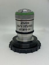Lomo Microscope Objective Microfluar Mfluar 100 130 Rms Thread 160 Tube