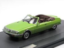 Matrix Scale Models 1971 Citroen SM Mylord Cabriolet Henri Chapron grün 1/43