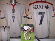 England David BECKHAM 04 Football Soccer Shirt Jersey Uniform UMBRO S M L XL 2XL