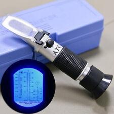 ATC Glykol-Refraktometer Auto-Frostschutz-Batterie Säure-Motorkühlmittel-TesterA