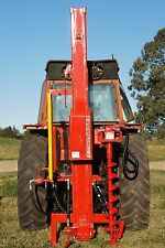 FARMFORCE POST DRIVERS fence hole HYDRAULIC rammer digger auger FENCING thumper