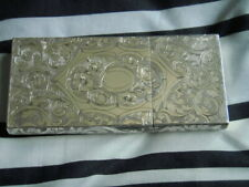 solid silver cigar case, Heavy,  its really nice