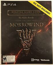 Elder Scrolls Online Morrowind and Discovery Pack DLC Add-On for Playstation 4