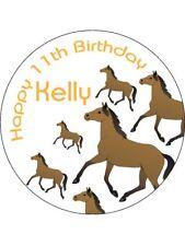 Jinete del caballo Jockey Lindo Pegatinas Personalizadas 24 X 45mm Cumpleaños Fiesta Regalo 54
