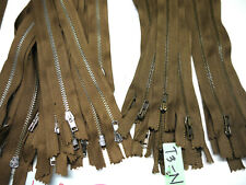 "Wholesale Lampo Zipper 12"" for 58 pieces lot #4 Metal teeth High Quality."