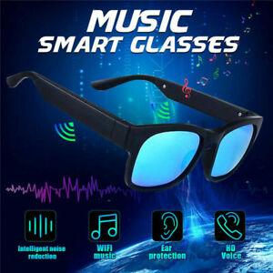 Polarized Smart Bluetooth Stereo Speaker Sunglasses Glasses Earphones Headset